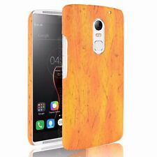 Ultra-thin PU Leather Wood Grain Skin Case For Lenovo P1 X3 K5 Phone Bage Cover