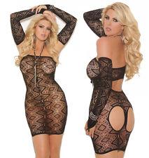 Plus Size Lingerie XL-2X-3X Sexy Clothes intimate Lenceria Crossdresser Dress
