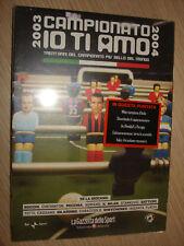 DVD N° 26 CAMPIONATO IO TI AMO 2003/ 2004 CALCIO MILAN CAMPIONE D´ITALIA