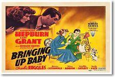Bringing Up Baby - NEW Vintage Movie POSTER
