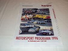 W/2/13/2 Modell Modellauto Katalog Prospekt Herpa Miniaturmodelle Motorsport ´96