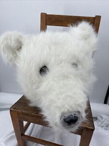 Realistic Polar Bear Mascot Costume Halloween Adult Or Teen 6 Pieces