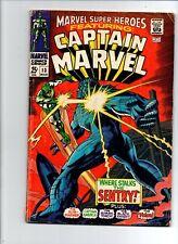 Marvel Super Heroes #13 - 1st Appearence Carol Danvers - 1967 - GD/VG