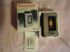 Panasonic cassette walkman/voice recorder RQ-310 ,New