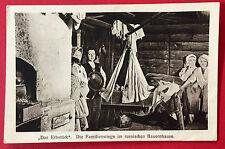 AK RUSSLAND um 1915 Typen Familienwiege Bauernhaus  ( 10299