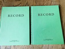 "Lot 2 Defense Logistics Agency Gpo Log Record Book 8 X 10-1/2"" 7530-00-222-3525"