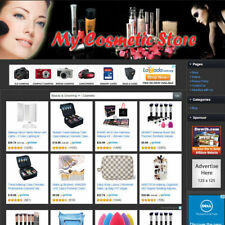 Beauty Cosmetic Store Functionally Online Business Affiliate Website For Sale