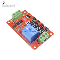 DC 12V PLC Relay Multifunction Self-lock Cycle Timer Module Delay Time Switch