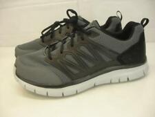 Mens 13 W Wide Fit Skechers Flex Advantage Sheaks Gray Shoes Sneaker Memory Foam