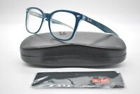 NEW RAY BAN RB 5285 5763 TURQUOISE AUTHENTIC EYEGLASSES FRAMES RX 53-19