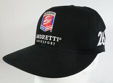 Andretti Autosport #26 Zach Veach Black Snapback Hat IndyCar