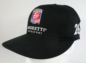 Andretti Autosport #26 Colton Herta Black Snapback Hat IndyCar