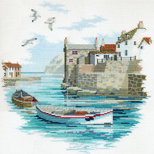 Derwentwater designs coastal britain cross stitch kit-isolé port