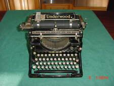 Vintage UNDERWOOD NO 5  TYPEWRITER  Beautiful Original Condition