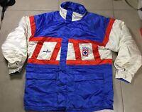 VTG 1992 Men's Deportivo Cruz Azul Mexico Sz M official training jacket soccer