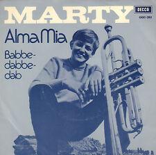 "MARTY – Alma Mia / Babbedabbedab (1971 VINYL SINGLE 7"" DUTCH PS)"
