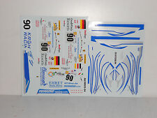 DECAL FERRARI F430 GT2 24H LE MANS 2008 #90 BBR 1/18 COD AB18023