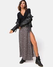 e3a568afdb MOTEL ROCKS Shayk Maxi Skirt in Ditsy Rose Black L Large (mr30)