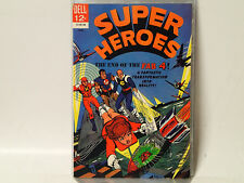 SUPER HEROES #4 Dell Comics 1967 VG  End of the Fab 4! FL