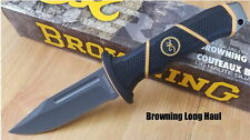 Couteau de Chasse Browning Long Haul Hunting Aier 7Cr17MoV Manche Polymer BR0353