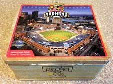 Mud Hens Metal Lunch Box Toledo Baseball Promo Fifth Third Field Sga tigers