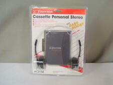 Emerson AM FM Radio Cassette Player with Headphones Sealed In Package NOS NIB