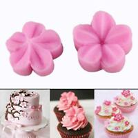 Petal Blossom Flower Cutter Sugar Cake Icing Flower Decorating Mould Decor KV