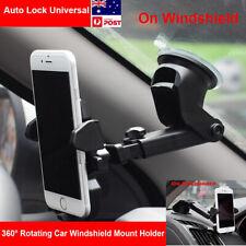 Universal 360°Rotation Car Windshield Mount Holder Cradle For Mobile Phone GPS