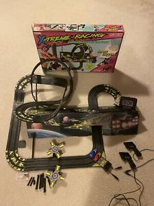 1994 Tyco X-Treme Racing #6313 Space Drivers Slot Car Track *Price Reduced