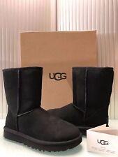 UGG Australia Women's Classic Short II Boots 1016223 Black Size 8