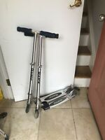 2 Razor Folding Kick Scooters Working/Used
