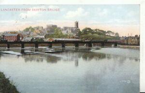 Lancashire Postcard - Lancaster from Skirton Bridge - Ref TZ6173