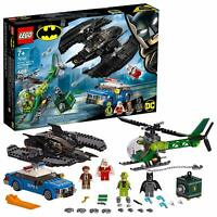 LEGO DC Comics Super Heroes Batman Batwing and The Riddler Heist 76120 Toy Gift