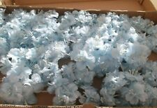 Pretty Blue Double Flowers - Special Order for Pamelam