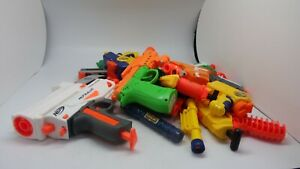 Nerf Guns + Nerf Type Toys Job Lot - Weighs approx 2kg - See descriptions