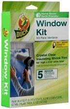 Duck Brand #286217 Indoor 5-Window Shrink Film Insulator Kit, 62-Inch x 210-Inch