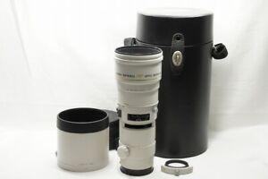 Minolta AF APO TELE 300mm F4 G HIGH SPEED Lens for Sony Minolta Alpha #210806l