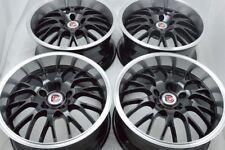 17 black Wheels TL Legend RDX RSX Avenger Accord Camry IS300 Escape Rims 5x114.3