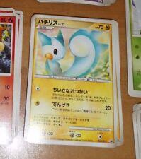 POKEMON JAPANESE CARD CARTE pachirisu 020/DP-P world Hobby Fair 2007 JAPAN MINT