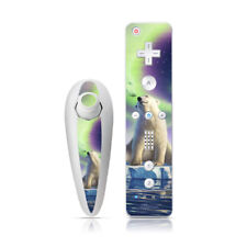 Wii Nunchuk + Remote Skin - Arctic Kiss by Jerry LoFaro - Decal Sticker