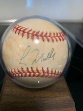 Original Greg Maddux Autographed National League Baseball Autograph