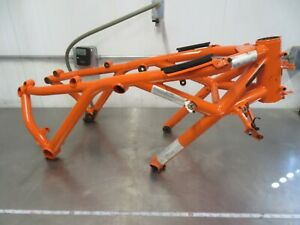 EB853 2014 14 KTM 1190 RC8 R FRAME ASSEMBLY VIN VBKVR9404EM901543 NO TITLE