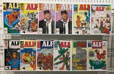 Alf Lot of 12 - Marvel Comics Vf+