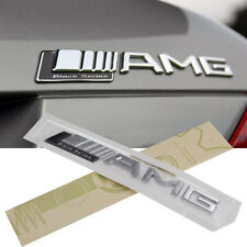 Black Series ABS AMG Badge Decal Chrome Sticker Emblem For Mercedes (US Stock)