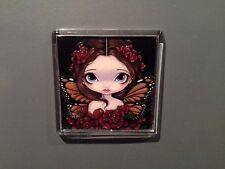 Rose Fairy. Jasmine Becket-Griffith. Magnet. Butterfly.