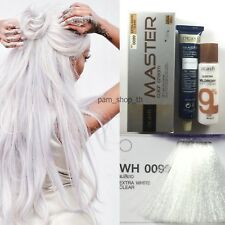 Dcash Permanent Hair Dye Color Cream Extra White WH0099 White Color Super Color
