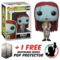 FUNKO POP DISNEY NIGHTMARE BEFORE CHRISTMAS SALLY WITH BASKET FREE POP PROTECTOR