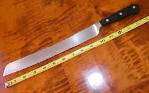 "Wüsthof CLASSIC Bread Knife 4151 10"" / 26 cm Wusthof Dreizack 10"" blade"