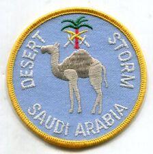 USAF air force desert storm saudi arabia Riyadh AB patch