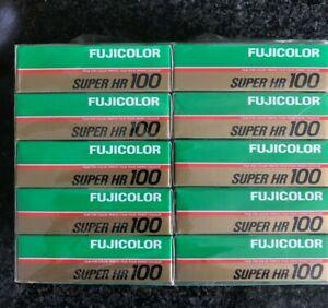 10x Fuji Super HR 100 ISO 126mm Expired film fuji kodak agfa pocket lomo